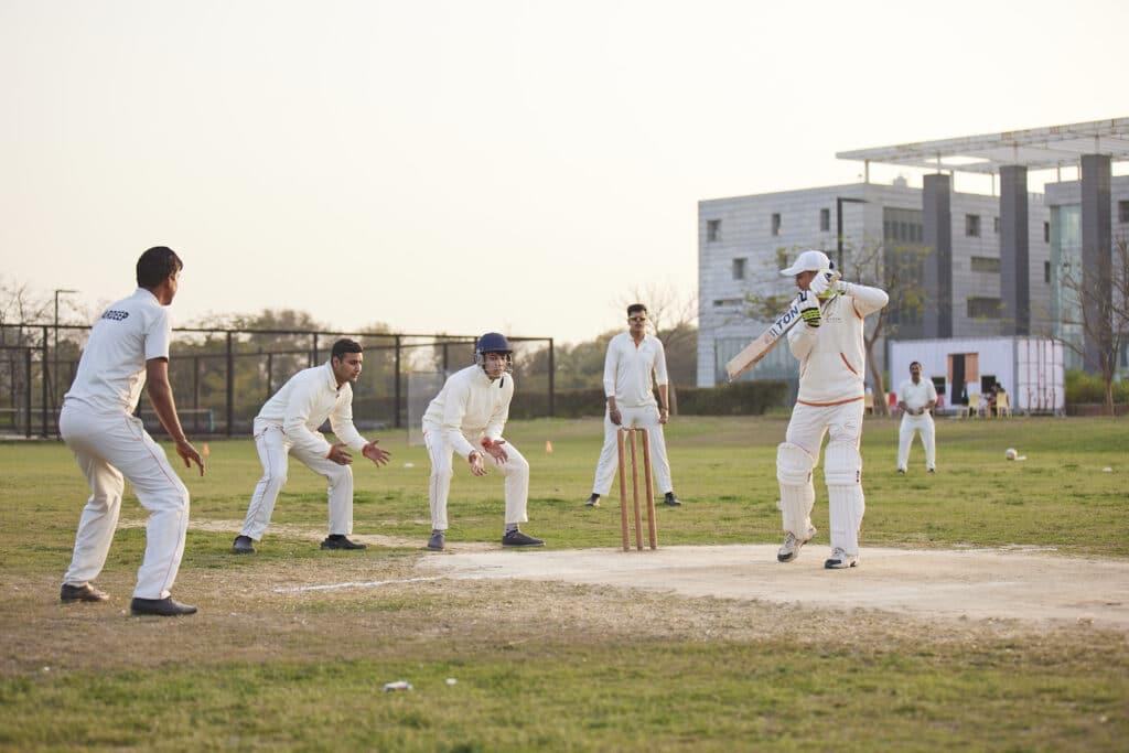 Cricket at Vedatya Institute