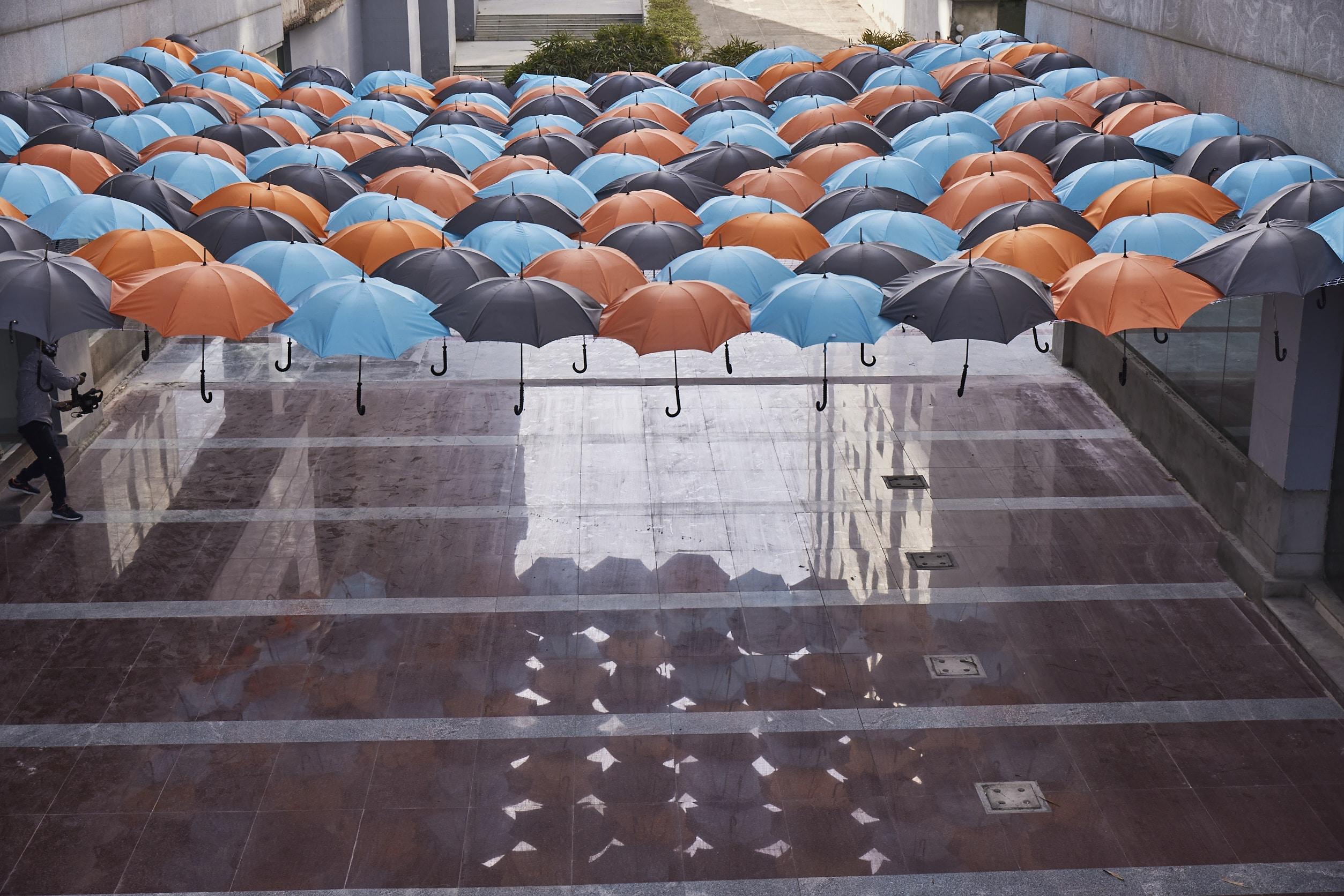 Vedatya - Umbrella Design Installation